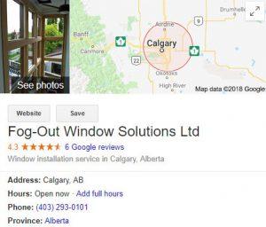 good window company Calgary